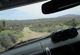 Day 2: Break in the FJ on some dirt roads (and some paved) in Mojave National Preserve and area