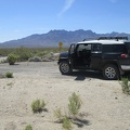 I stop for a quick break at the south end of Black Canyon Road