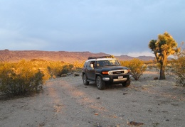 Day 7: Exploring some four-wheel-drive backroads in the FJ in Lanfair Valley, Mojave National Preserve