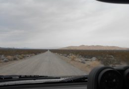 I make a last-minute, unplanned turn down the road to Kelso Dunes