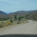 I enjoy the drive out of Obsidian Campground through sagebrush country