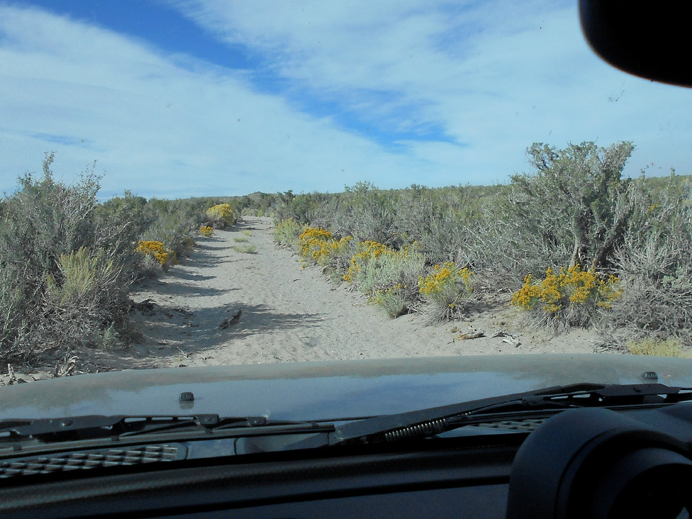 The driving is rather easy as I head up onto the Granite Mountains plateau