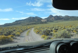 Ah, here's my next dirt road into the Granite Mountains Wilderness