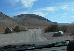 I wind around Pumice Valley, ending up on a dirt road that passes some of the Mono Craters