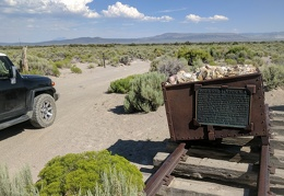 My next stop is the old Bodie and Benton Railroad road