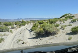 I'm going to drive some of the sandy Mono Lake ring road